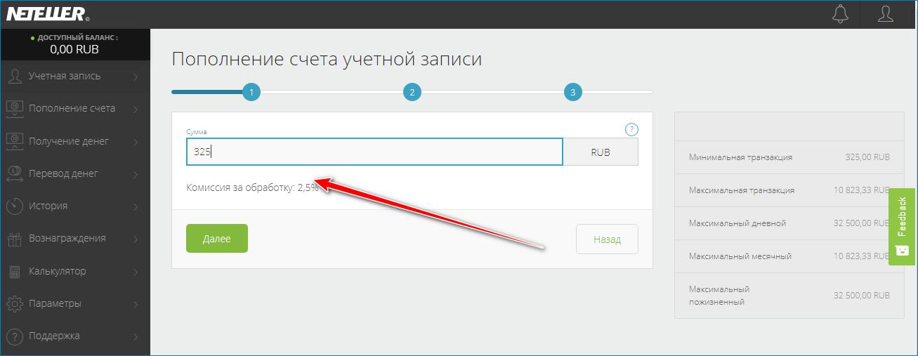 Пополнение Нетеллер через Яндекс кошелек
