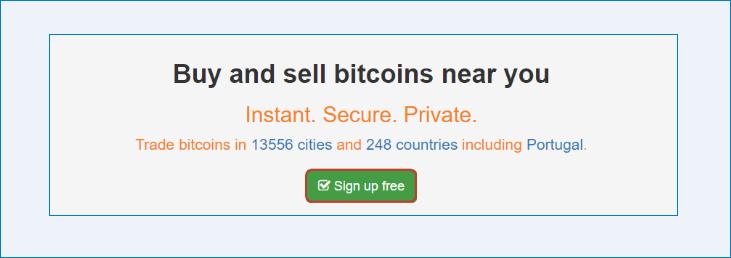 Создание счета через Localbitcoins